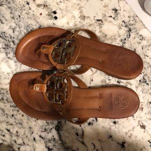 Tory Burch Miller Sandal Vintage Vachetta